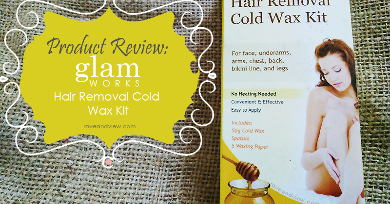 Glamworks Hair Removal Cold Wax Kit Review Rave And View