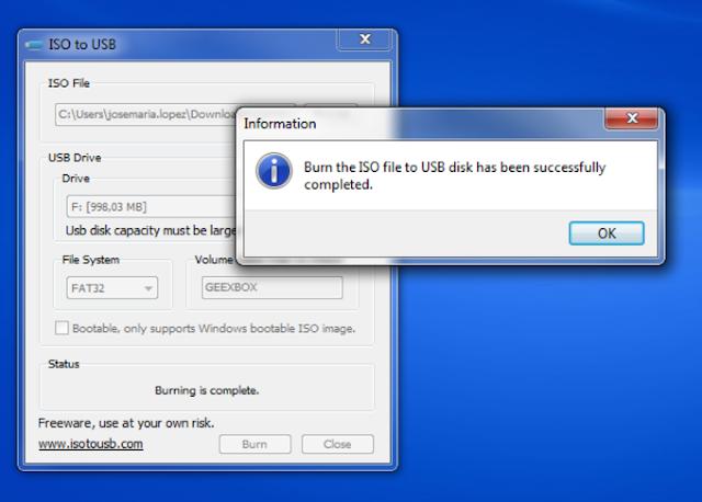 طريقه تثبيت نسخه ويندوز بفلاشة برنامج Iso To Usb