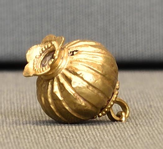 Ένα χρυσό ρόδι από τις Μυκήνες