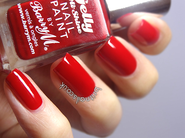 Barry M Gelly Blood Orange