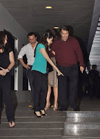Saif, Kareena & Karisma at Randhir Kapoor's private dinner