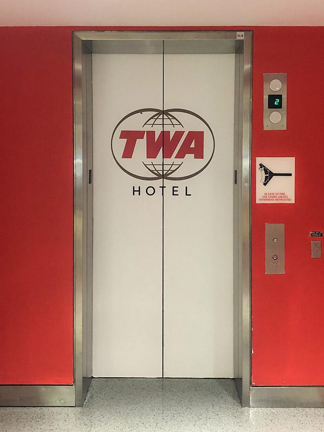 TWA Hotel JFK NYC Elevator