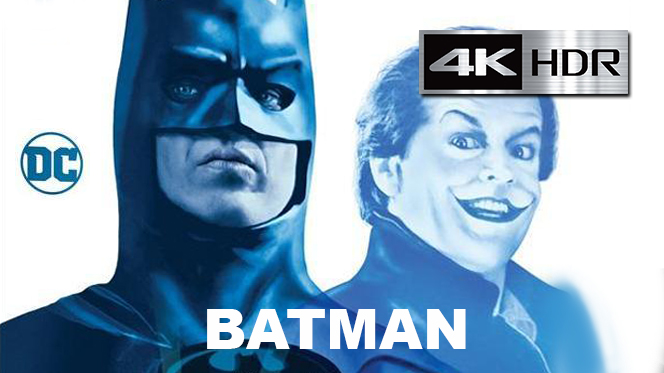 Batman (1989) 4K UHD [HDR] Latino-Castellano-Ingles