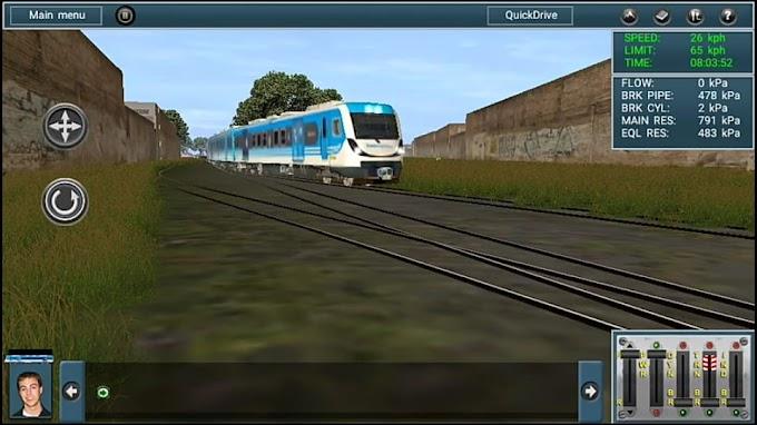 Ruta Ferrocarril General Belgrano Ficticia - Por Ezequiel Gomez