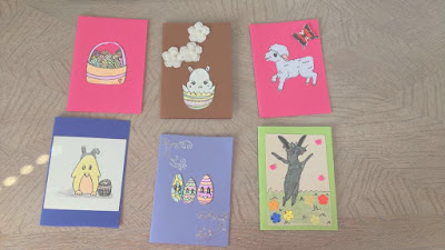 easter cards you can make, DIY easter cards