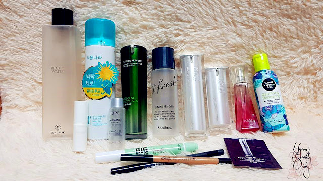 SON&PARK; 식물나라; Nature Republic; banila co.; ISKIN; elianto; Good Virtues Co.; Mentholatum; IOPE; Etude House; BBIA; Suisse
