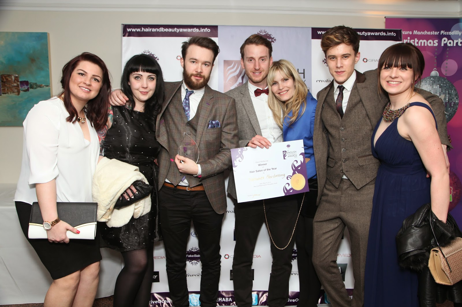 winners announced at the english hair and beauty awards 2014