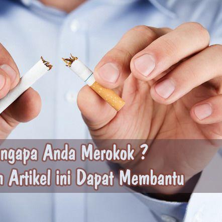Mengapa Anda Merokok ? Mungkin Artikel ini Dapat Membantu