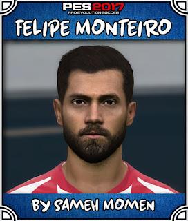 PES 2017 Faces Felipe Montero by Sameh Momen
