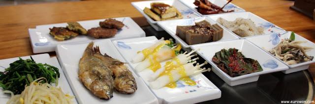 Comida en Gyeongju