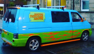 The Mystery Machine in Skegness