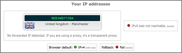 Perlindungan DNS dan IPv6 Surfshark VPN