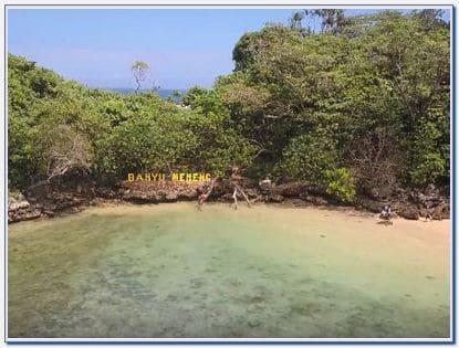Camping pantai banyu meneng