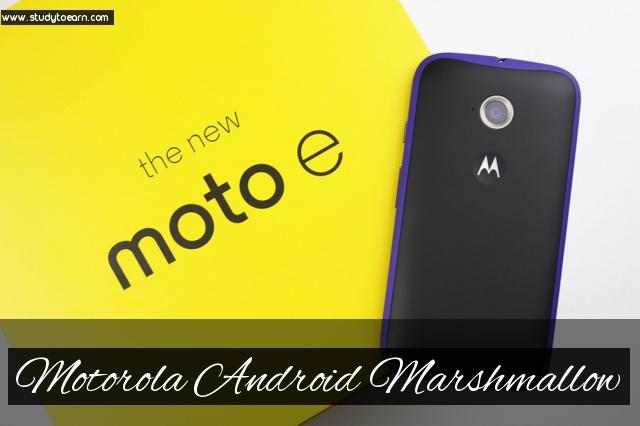 Motorola android marshmallow