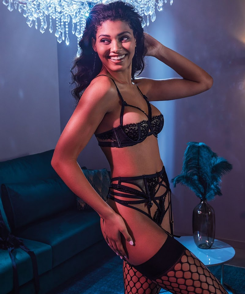 Danielle Herrington Featured  for Hunkemoller 2020 Collection
