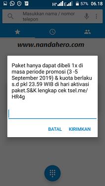 paket telkomsel murah 4gb rp10