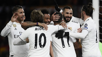 REAL MADRID at the Nº 1 spot in UEFA Club Ranking 2019