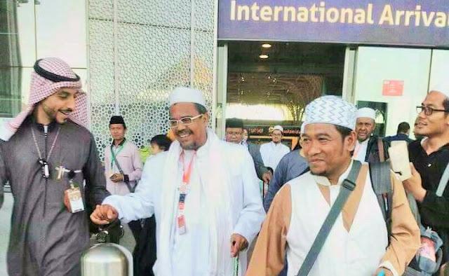 Red Notice Ditolak Interpol, Polisi Ancam Cabut Paspor Habib Rizieq