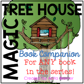 The activities in this book companion study pack can be used for ANY Magic Tree House book in the series! Perfect for individual, small group, or whole class guided reading!