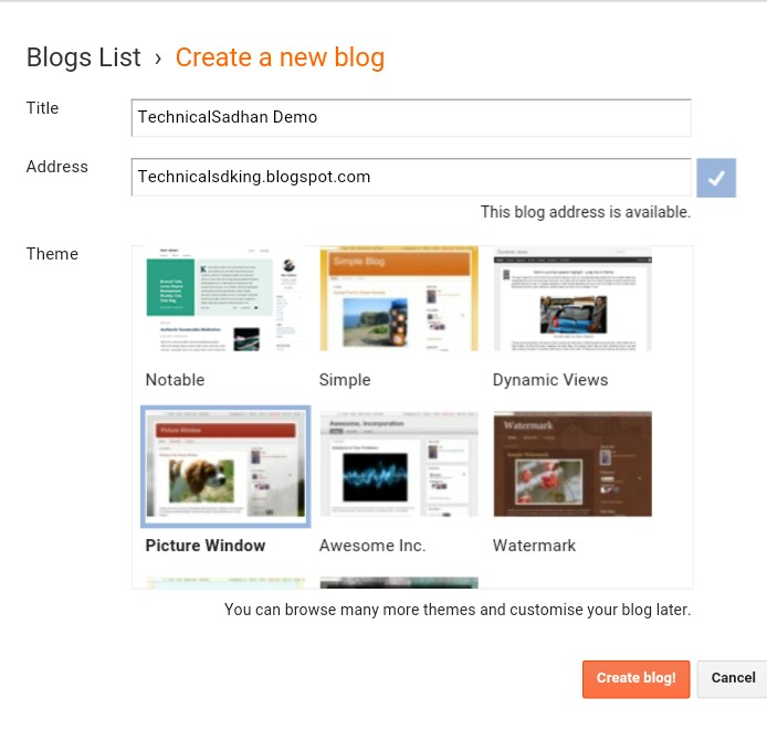 How ho creat blog in hindi