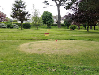 Putting Green at Beach Gardens in Swanage, Dorset. Photo by Tiger Pragnell, May 2018