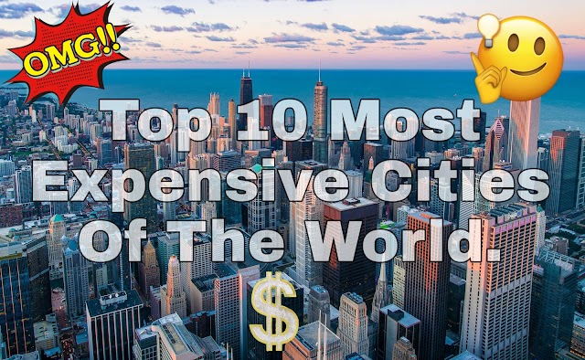 FACT : - World's Most Expensive Cities. Top 10 Most Expensive Cities Of The World. Published by Fact Zone blogspot blog.