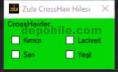 ZULA Yeni TYG v1.5 Renkli Crosshair Hilesi Mayıs 2019 Yeni