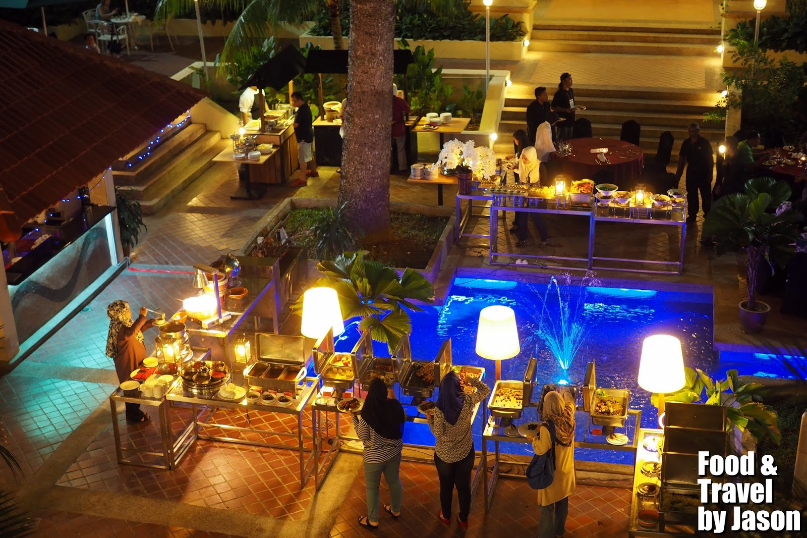 FOOD & Travel: Al fresco BBQ buffet @ Palm Garden Hotel, IOI Resort ...