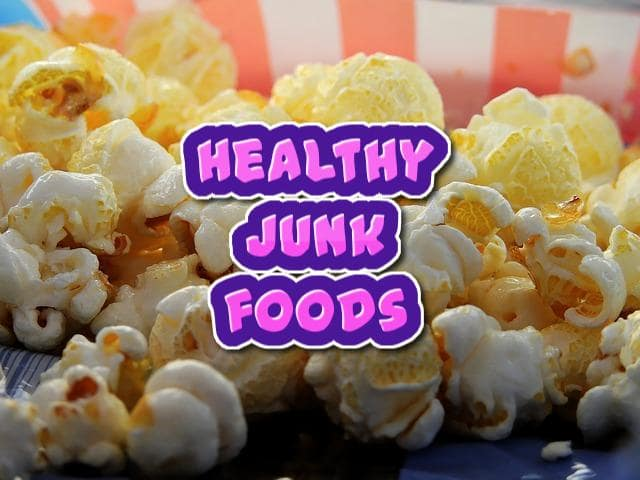 Healthy junk foods