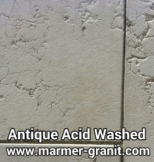 Marmer antique acid washed