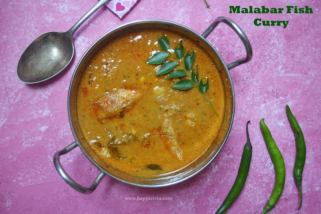 Malabar Fish Curry Recipe | Malabar Style Meen Kuzhambu
