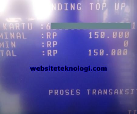 Cara Pending Top Up Brizzi melalui ATM BRI Link ioannablogs.com Cara Pending Top Up Brizzi di ATM BRI Link