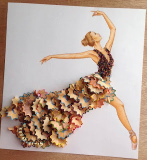 אמן יצירתיות שמלות