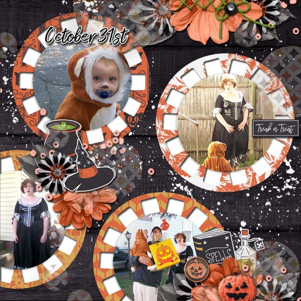Momentos Digital Scrapbooking Templates
