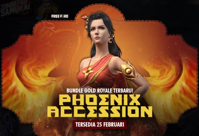 Bundle Gold Royale Terbaru Free Fire Update Februari 2020
