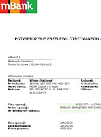 Panel Poznaj.to — dowód wypłaty 2021.