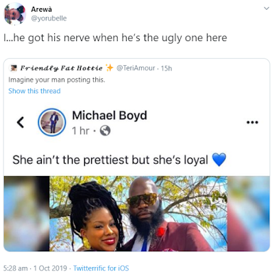 Man Tackled For The Caption He Used While Sharing His Woman's Photo