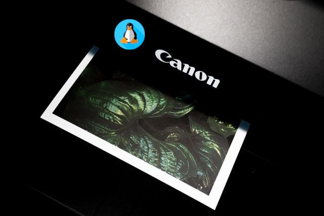 طريقة تثبيت درايفر طابعة Canon على لينكس
