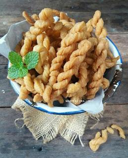 Ide Resep Masak Kue Jadul Kue Untir-untir (Kue Tambang)