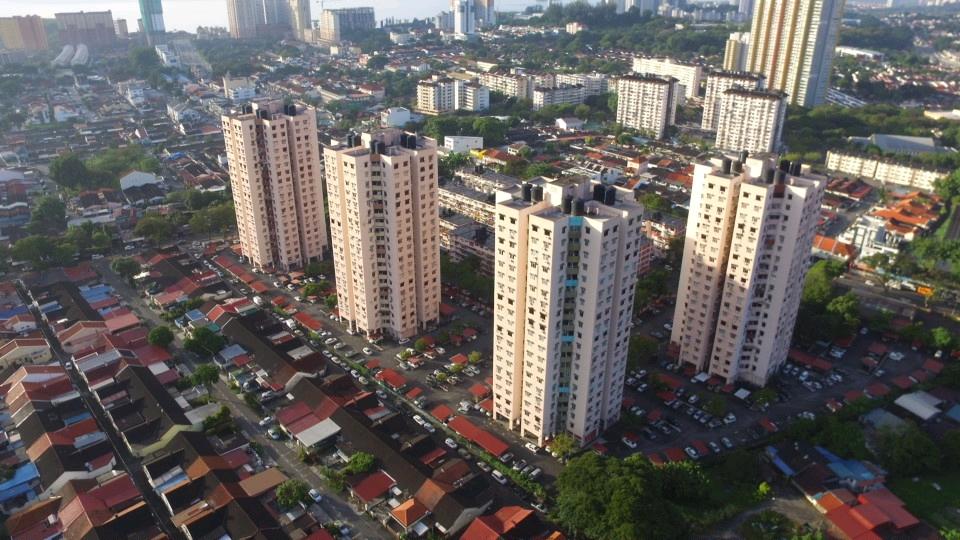 Gambar Apartemen Mewah Court Penang