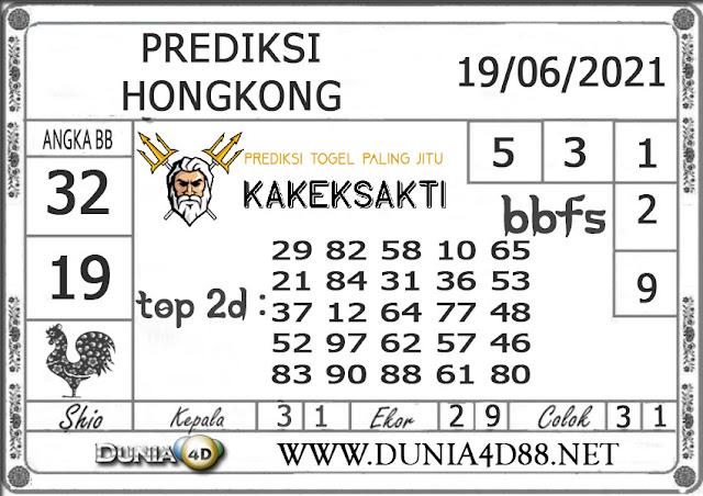 Prediksi Togel HONGKONG DUNIA4D 19 JUNI 2021