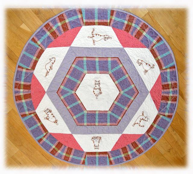 квилт коврик для йоги