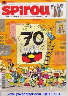 70 ans de Spirou