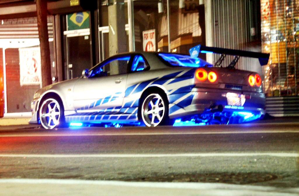 Brian O Conner S Nissan Skyline R34 Gt R 2 Fast 2