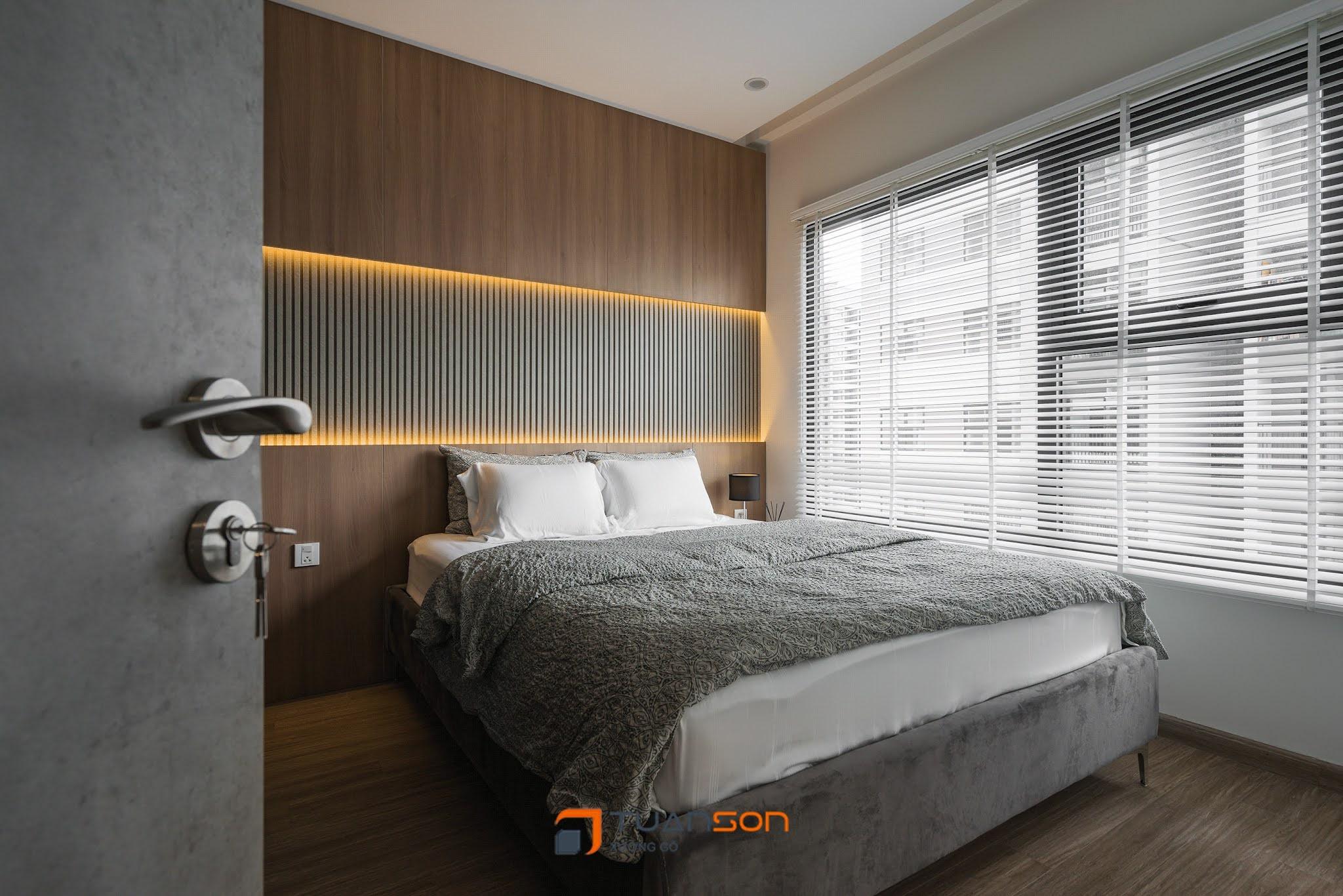 Hình ảnh thực tế nội thất căn 2PN+2WC Vinhomes Ocean Park Gia Lâm