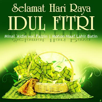Gambar Ucapan Selamat Idul Fitri Keren