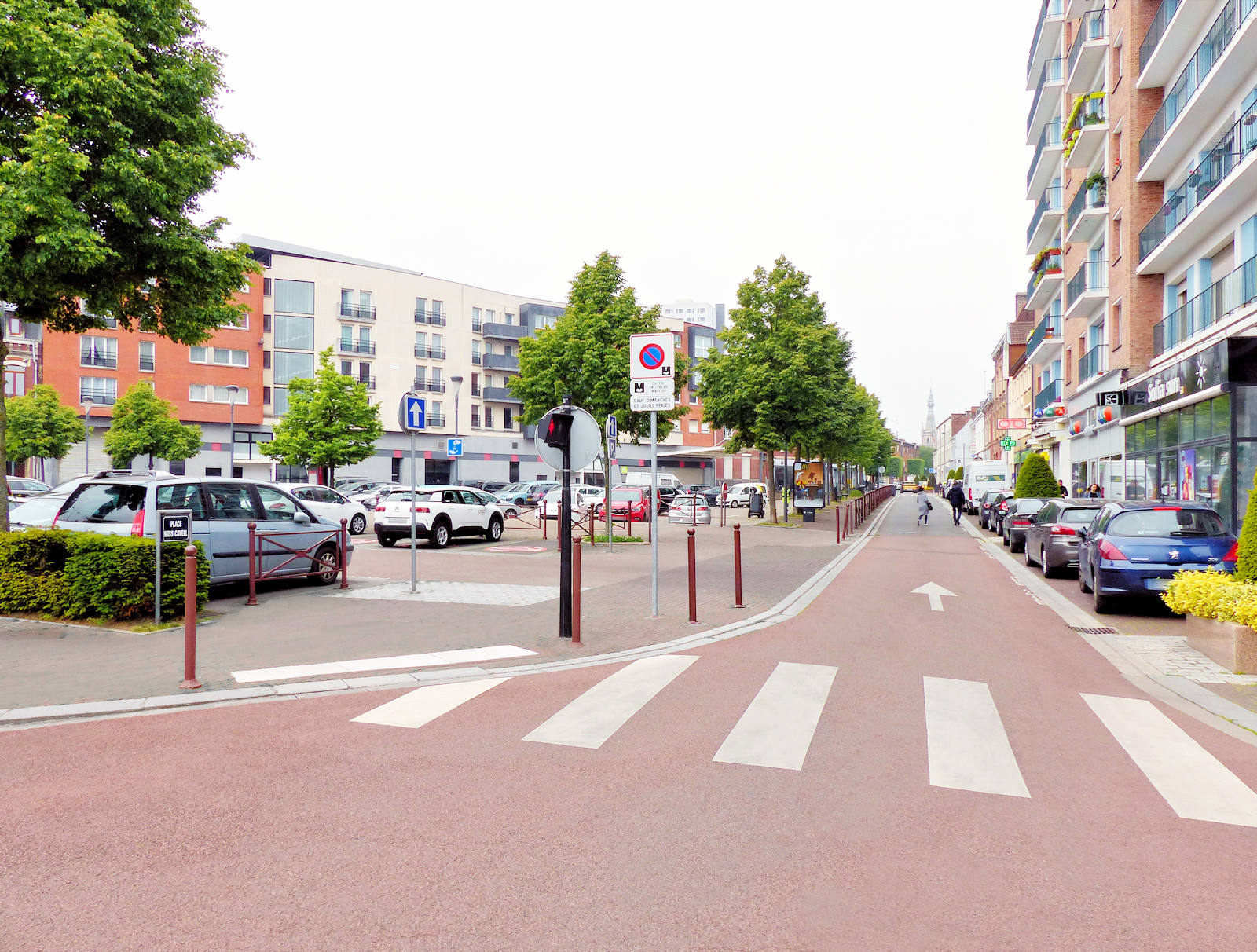 Stationnement Tourcoing Centre - Place Miss Cavell
