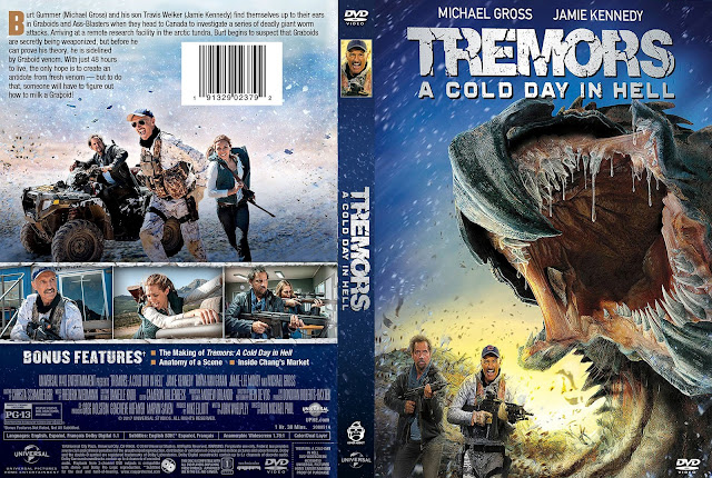 Tremors: A Cold Day in Hell DVD Cover