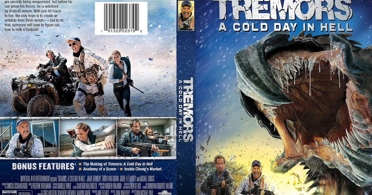 Tremors A Cold Day In Hell DVD Cover Cover Addict DVD