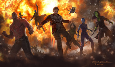 Marvel's Guardians of the Galaxy 2 Movie Concept Art featuring a first look at Mantis